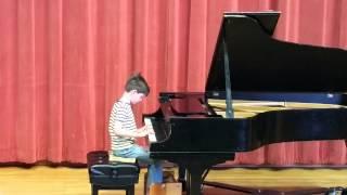 Aidan Wizeman mini concert 4-15