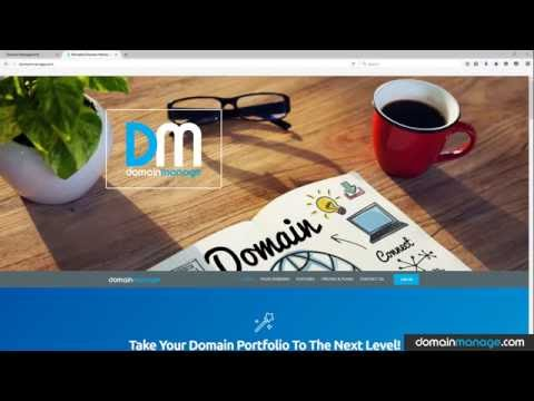 Create a domain sales page in under 30 seconds
