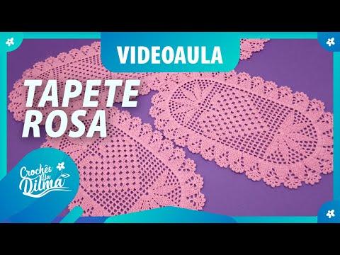 VIDEOAULA GRÁTIS | Tapete Rosa (conjunto de cozinha)