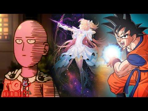 [Top Khám Phá] Top 12 nhân vật quyền năng nhất anime - manga