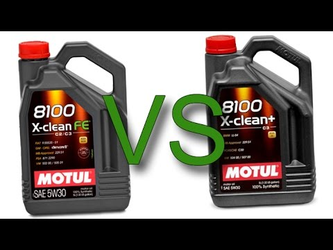 motul 8100 x clean fe 5w30 vs motul 8100 x clean 5w30