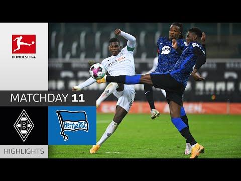 Borussia M'gladbach - Hertha Berlin | 1-1 | Highlights | Matchday 11 – Bundesliga 2020/21