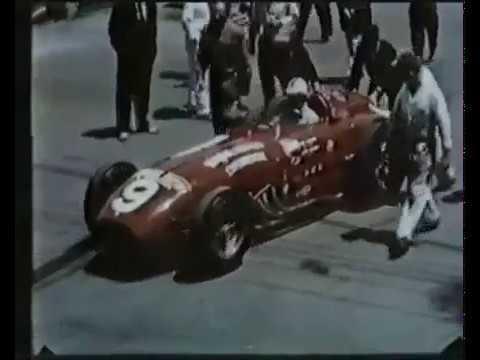 Ferrari Bardahl Special - prove per la IndianaPolis del 1956