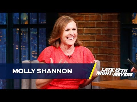 Molly Shannon Had a Slightly Violating Massage Experience