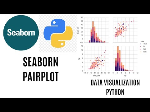 Pairplot In Seaborn   Seaborn Pairplot Tutorial Using Python   Visualization With Seaborn