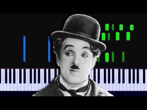 Smile - Charlie Chaplin Piano Tutorial
