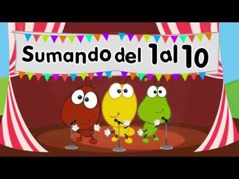 Canción Sumando los números del 1 al 10 - Canciones infantiles - songs for kids in spanish