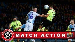 Blackburn 0-2 Blades - match action