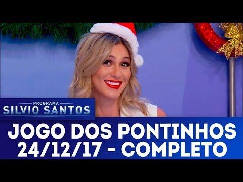 Jogo dos Pontinhos - Especial de Natal |  Programa Silvio Santos (24/12/17)