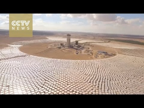 World's biggest solar tower being built in Israel's Negev Desert