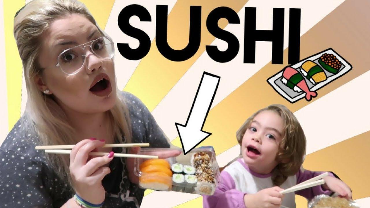 MANGIAMO SUSHI CON VOI e provo il wasabi 🔥