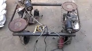 super mechanical project Gearless Transmission New Invention Project