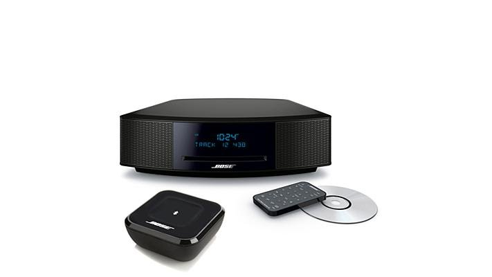 bose wave music system iv w bluetooth audio adapter youtube. Black Bedroom Furniture Sets. Home Design Ideas