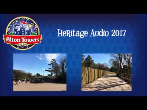 Alton Towers Resort Heritage Audio 2017-Full 25 Minute Soundtrack