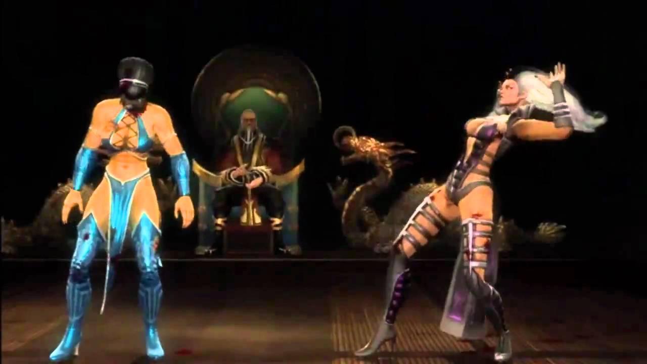 Mortal Kombat 9 Sindel Expert Ladder - YouTube