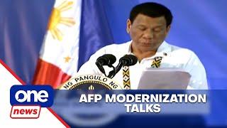 U.S. invites Duterte for AFP modernization talks