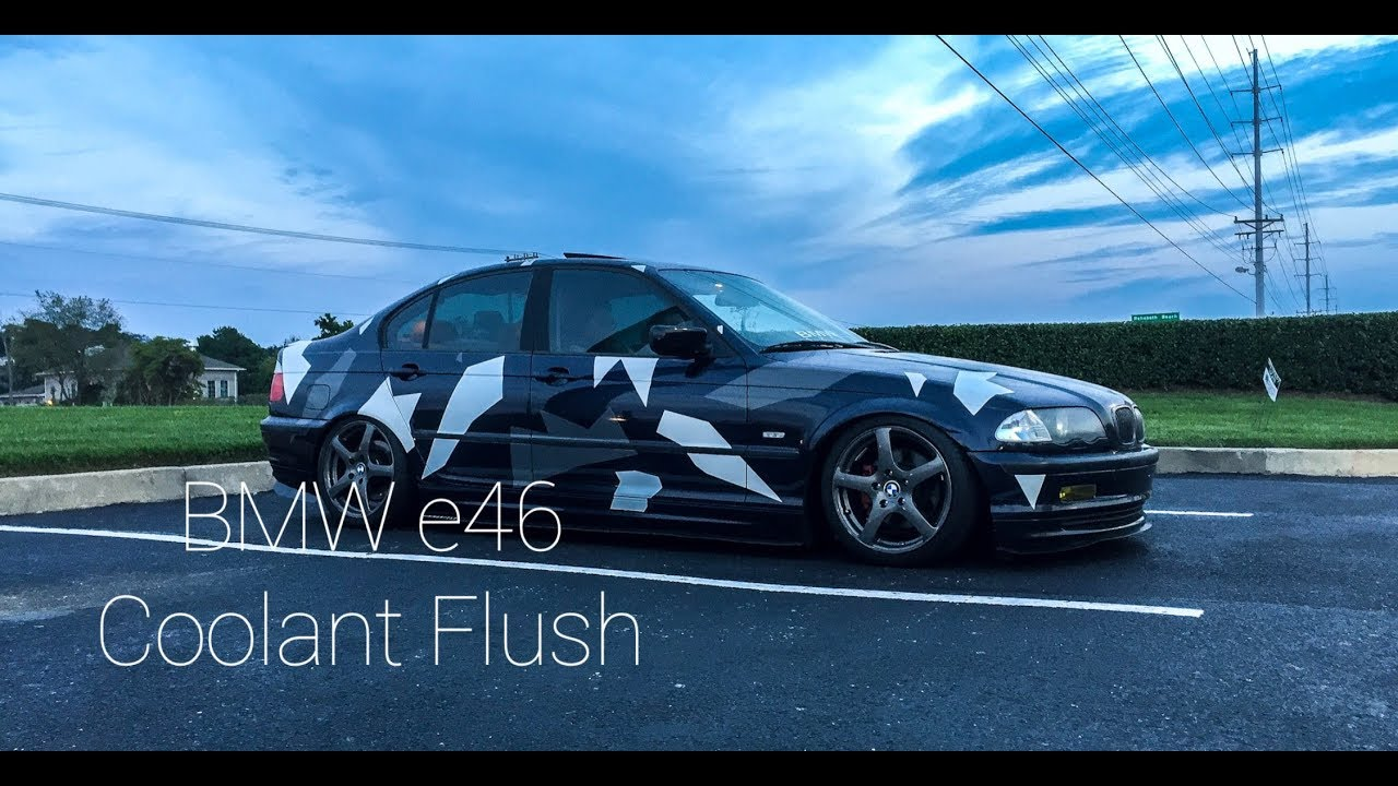 How to Flush your Coolant on your BMW e46