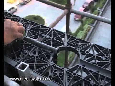 vertical garden installation by Life Green Systems at hotel Hyatt Manesar, Gurgaon