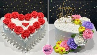 Amazing Heart Cake Decorating Compilation | Most Satisfying Heart Cake Videos | Heart Cake Design