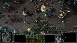 Playing 3v4 (Dropped Teammate) in 4v4 - Starcraft 2 - Heart of the Swarm Thumbnail