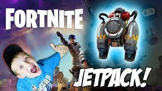 Liam gets a JETPACK! Fortnite Battle Royale Family Friendly Gameplay Part 6