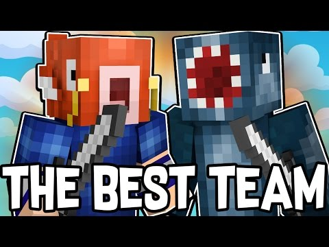 THE GREATEST TEAM IN BEDWARS!! - MINECRAFT MINI GAME
