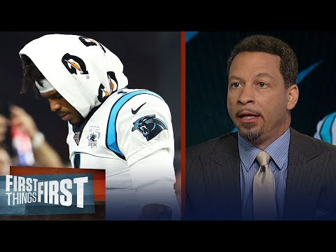 Chris Broussard reacts to Cam Newton's injury in preseason debut | NFL | FIRST THINGS FIRST