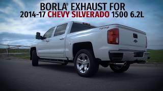 Borla Exhaust for 2014-2017 Chevy Silverado 6.2L Trucks