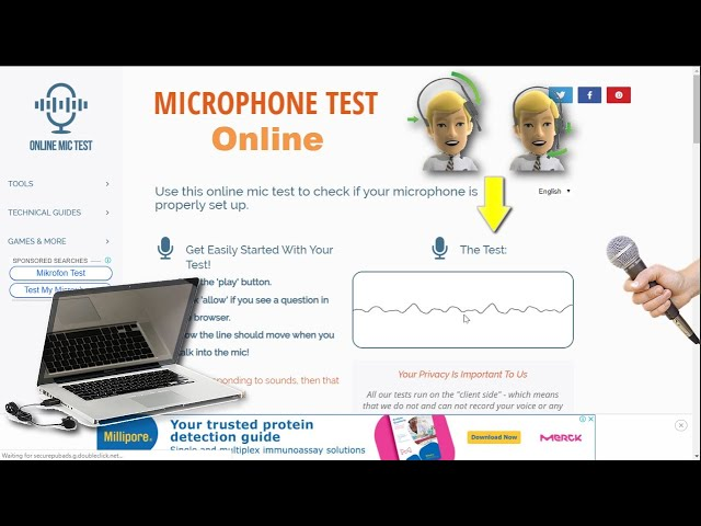 Online Microphone Tester Do Mic Testing For Pc Laptop Online Easily Youtube