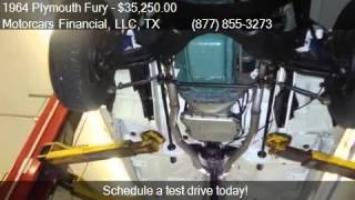 1964 Plymouth Fury Sport for sale in Headquarters in Plano,