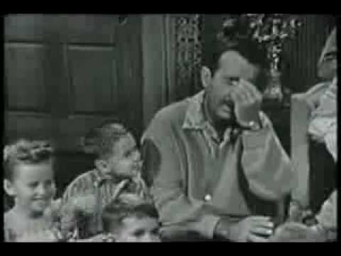 Ernie Ford - singing with a little boy by his side funny.