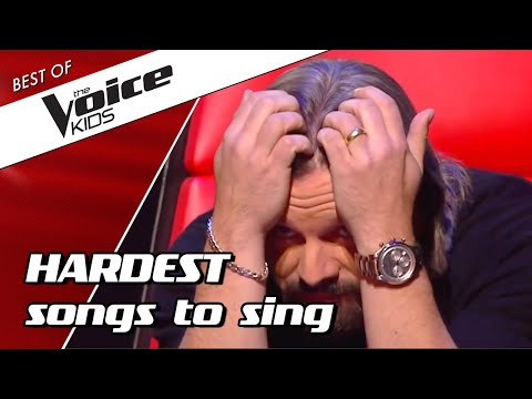 TOP 10 | The HARDEST SONGS to sing in The Voice Kids! 😵(part 2)