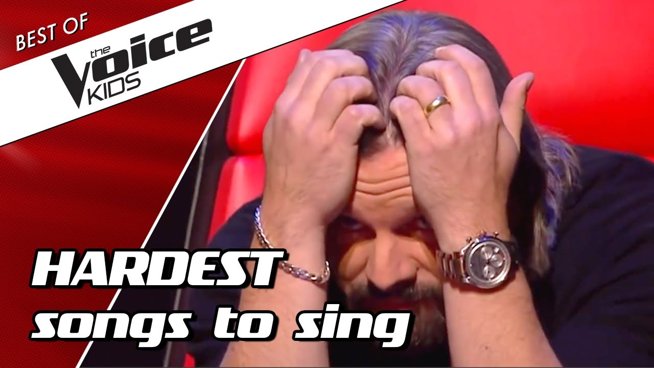 Download TOP 10   Most DIFFICULT SONGS to sing in The Voice Kids PART 2
