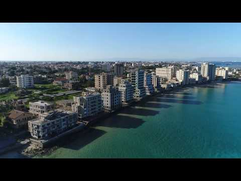 Absolutely NOTHING interesting to see on this Varosha, Cyprus ghost town 4k drone footage. Well...