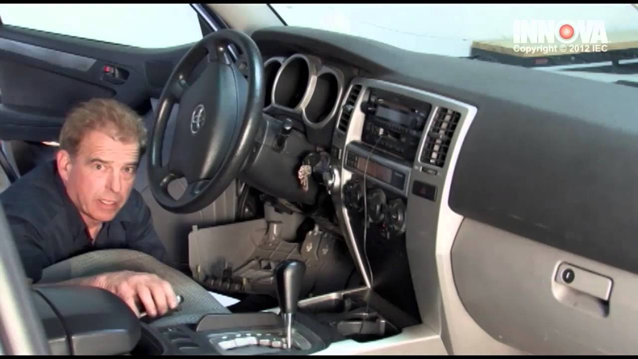 How To Change Ignition Switch 2003 Toyota 4runner Youtube