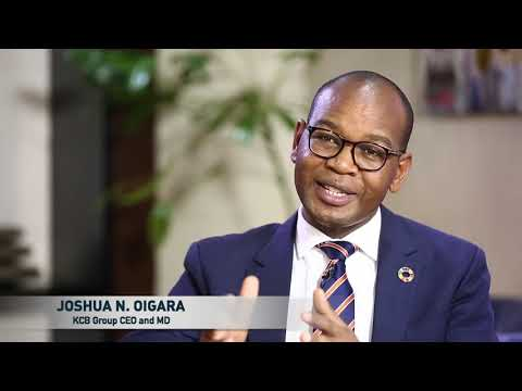 KCB Group CEO Joshua Oigara on Global Banking Principles