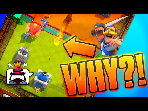 Clash Royale FACING LVL 2 NOOBS! [Fresh Start Arena 1 Gameplay]