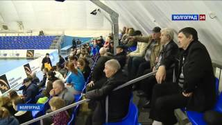 «Динамо-Синара» (Волгоград) – «Кубань». Сюжет ГТРК Волгоград