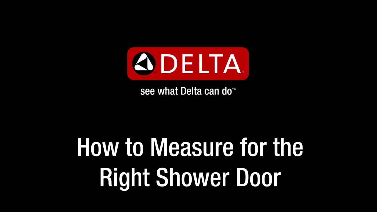 How To Measure For The Right Shower Door Youtube