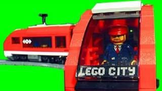 LEGO City Passenger Train Review 7938 & Make Extra Track