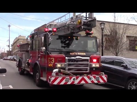 b10d2ed1b18 North Hudson Regional Fire   Rescue NEWLY ACQUIRED Engine 3 Responding