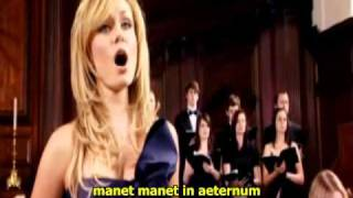 Mozart W.A. - Laudate Dominum (Katherine Jenkins) [sub].avi