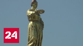 Смотреть видео На ВДНХ завершаются работы по благоустройству - Россия 24 онлайн