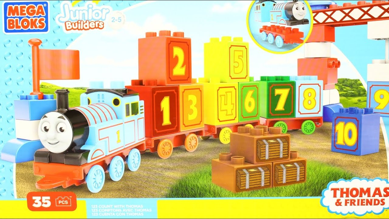 Mega Bloks Thomas /& Friends 123 Count with Thomas
