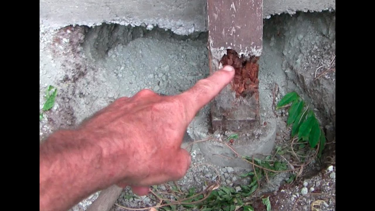 How To Replace A Load Bearing Post Youtube