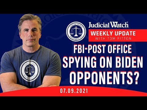 NEW Fauci-China Documents, FBI-Post Office Spying on Biden Opponents?