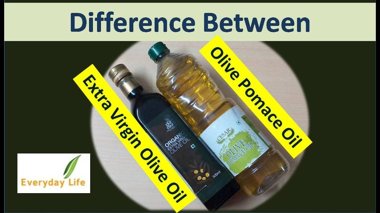 Difference between Extra Virgin Olive Oil and Olive Pomace Oil | जैतून का  तेल | Everyday Life