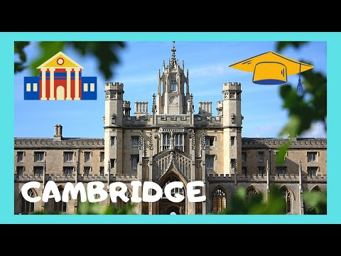 The famous Universities of Cambridge, England