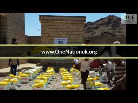 Food Aid Distributed TO Poor Families In Yemen - December 2018