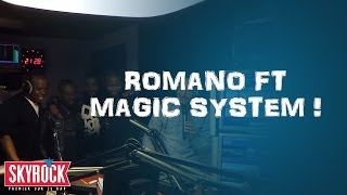 "Magic System feat Romano "" Magic In The Air"" en live dans la Radio Libre"